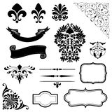 Ornament Set Royalty Free Stock Photos