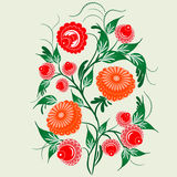 Ornament in the Slavic folk style Royalty Free Stock Images
