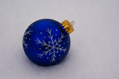 Ornament in Snow Stock Image