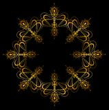 Ornament snowflake Royalty Free Stock Photos