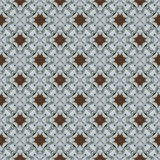Ornament from stones with autumn leave. Seamless pattern tile, ornament from stones with autumn leave Royalty Free Stock Photography