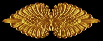 Ornament stucco vintage floral Stock Image