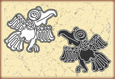 Ornament in style of the Maya Stock Images