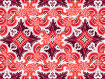Ornament Swirls Retro Background Stock Images