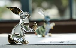Ornament szklane figurki Fotografia Stock