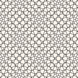 Ornament texture with thin curved lines, delicate net, grid, lattice, lace, fishnet. Black and white background. royalty free illustration