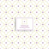 Purple and yellow geometric seamless pattern. Ornament. Traditional, Ethnic, Turkish, Indian motifs. Great for fabric and textile, wallpaper, packaging or any Stock Image