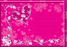 Ornament Valentine Stock Images