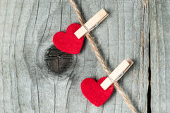 Ornament for Valentine's Day.   Royalty Free Stock Image
