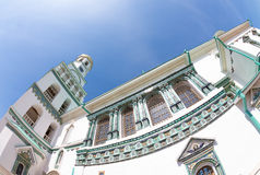 Ornament van het Klooster van Verrijzenis Nieuwe Jeruzalem royalty-vrije stock afbeelding