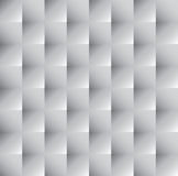 Ornament vector background. Tileable 3D modern optical illusion recurring creative concept design techno textural fond of white realistic celluar plastic grid Royalty Free Stock Photo