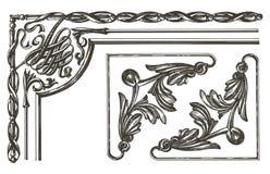 Ornament vector logo design template. frame or Stock Photos