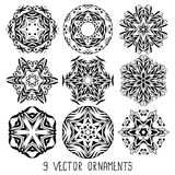 Ornament vector set Stock Photography