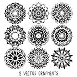 Ornament vector set Stock Images