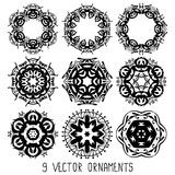 Ornament vector set Stock Image