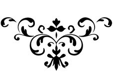 Ornament in vectors. Decorative ornament in vector format Stock Images