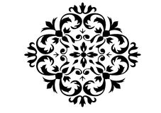 Ornament in vectors. Decorative ornament in vector format Royalty Free Stock Photos