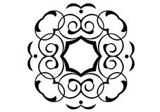 Ornament in vectors. Decorative ornament in vector format Royalty Free Stock Photography