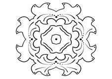 Ornament in vectors Stock Image