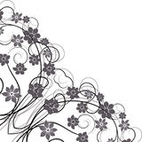 Ornament vintage floral design. Royalty Free Stock Image