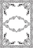 Ornament vintage page Royalty Free Stock Photography