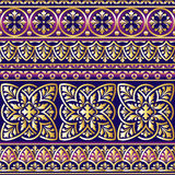 Ornament violet Stock Photos