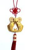 Ornament voor de Chinese viering van het Nieuwjaar Royalty-vrije Stock Afbeelding