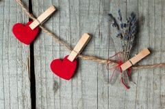 Ornament voor de Dag van Valentine Royalty-vrije Stock Afbeeldingen