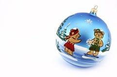 Ornament voor Kerstmis. Royalty-vrije Stock Afbeeldingen