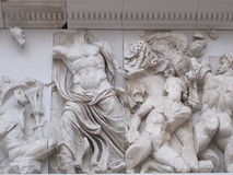 Ornament w Pergamon ołtarzu Obrazy Stock