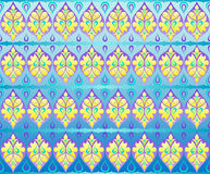 Ornament wallpaper. Tradition-like style 2d simple ornament wallpaper Royalty Free Illustration