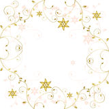 Ornament on white background Stock Photography