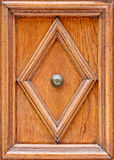 Ornament on Wooden Doors. Close-up stock photos