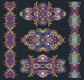 Ornamentação floral decorativa Fotos de Stock