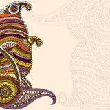 Ornamentachtergrond Royalty-vrije Stock Foto