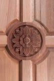 ornamentaci drewno Fotografia Stock