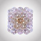 Ornamentacyjna combinatorial mozaika Obrazy Royalty Free