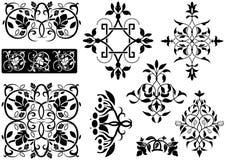 Ornamentacyjna dekoracja Obraz Royalty Free