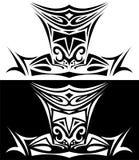 Ornamentacyjna ilustracja rycerz Zdjęcia Royalty Free