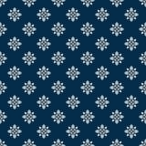 Ornamentacyjna kwiecista tapeta Zdjęcia Royalty Free