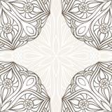 Ornamentacyjna narożnikowej koronki rama. Obraz Royalty Free
