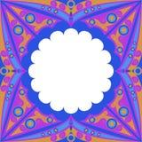 Ornamentacyjna rama ilustracji