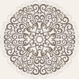 Ornamentacyjna round koronka Zdjęcia Royalty Free