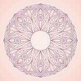 Ornamentacyjna round koronka Zdjęcie Stock