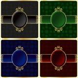 Ornamentacyjne ramy Obraz Royalty Free