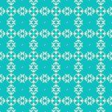 Ornamentacyjny bezszwowy geometryczny wzór Fotografia Stock