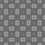 Ornamentacyjny Bezszwowy linia wzór Zdjęcie Stock