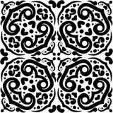Ornamentacyjny bezszwowy wzór Fotografia Royalty Free
