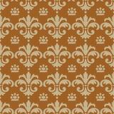 Ornamentacyjny bezszwowy wzór Obrazy Royalty Free