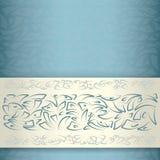 Ornamentacyjny deseniowy szablon Zdjęcie Stock